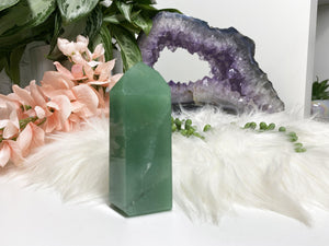 Contempo Crystals - Large Green Aventurine Crystal Point - Image 4