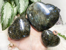 Load image into Gallery: Contempo Crystals - Labradorite Hearts - Image 7