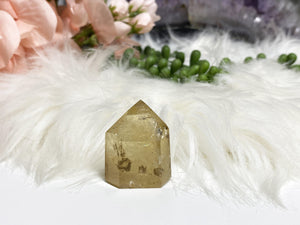 Contempo Crystals - Iron Included Natural Citrine Crystal Point - Image 4