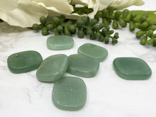Load image into Gallery: Contempo Crystals - Green Aventurine Flat Worry Stones - Image 2