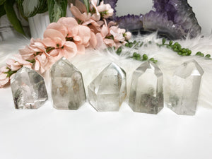 Contempo Crystals - Chlorite Quartz Points - Image 1