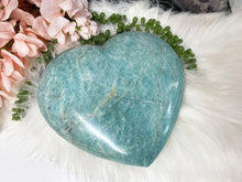 Load image into Gallery: Contempo Crystals - XL Amazonite Heart - Image 4