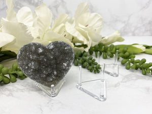 Contempo Crystals - Plastic Crystal Heart Display Stand - Image 5