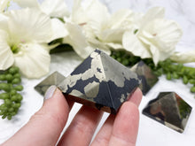 Load image into Gallery: Contempo Crystals - Pyrite Pyramid from Contempo Crystals - Image 2