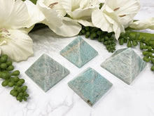 Load image into Gallery: Contempo Crystals - Amazonite Crystal Tetrahedron Stone - Image 5