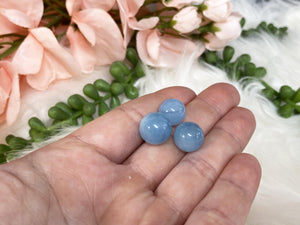 Contempo Crystals - Tiny Blue Aquamarine Crystal Spheres Medium Size - Image 5