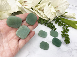 Contempo Crystals - Green Aventurine Worry Stones - Image 1