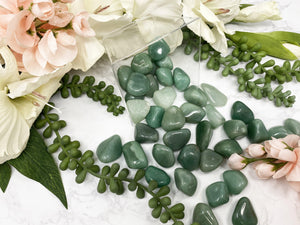 Contempo Crystals - Small Green Aventurine Crystal Tumbled Stones from Contempo Crystals Shop. - Image 5