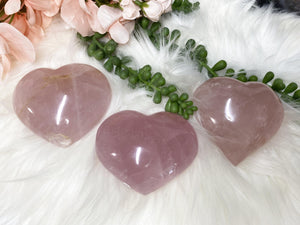 Contempo Crystals - Rose Quartz Hearts - Image 1