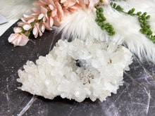 Load image into Gallery: Contempo Crystals - Large Chunky White Quartz Galena Crystal Cluster - Image 4