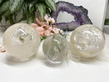 Load image into Gallery: Contempo Crystals - Included Quartz Spheres - Image 1