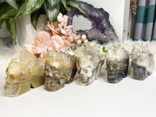Load image into Gallery: Contempo Crystals - Large Quartz Geode Skulls - Image 10