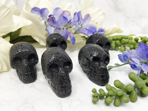 Contempo Crystals - Black Lava stone skull crystal from Contempo Crystals - Image 2