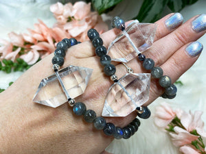 Contempo Crystals - Quartz Point Mala Bracelets - Image 11