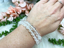 Load image into Gallery: Contempo Crystals - Clear Quartz Mala Bracelet - Image 4