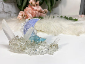 Contempo Crystals - Colorful Options - Quartz & Resin Crystal Moons - Image 3