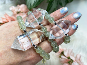 Contempo Crystals - Quartz Point Mala Bracelets - Image 8