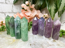 Load image into Gallery: Contempo Crystals - Rainbow Fluorite Mini Points - Image 1
