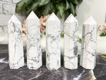 Load image into Gallery: Contempo Crystals - Howlite Points - Image 1