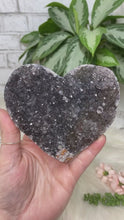 Load image into Gallery: Contempo Crystals - Black Amethyst Heart - Image 2