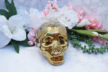 Load image into Gallery: Contempo Crystals - Quartz Skull Piggy Bank - Image 5