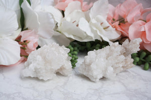 Contempo Crystals - White Aragonite. Variants Left (left) and Right (right) - Image 9