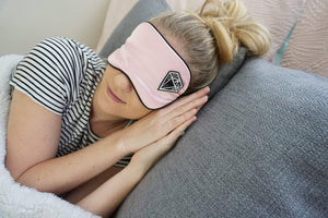 Contempo Crystals - Crystal Sleeping Mask & Selenite Slab Sleeping Mask. On face - Image 7