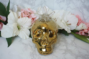 Contempo Crystals - Quartz Skull Piggy Bank - Image 8