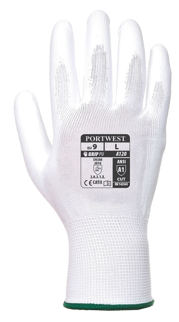 Portwest A120 Vending Handling Work Safety Glove with Protective PU Palm Grip