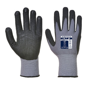 Portwest A351 DermiFlex Plus Handling Glove with PU/Nitrile Foam Palm Grip ANSI
