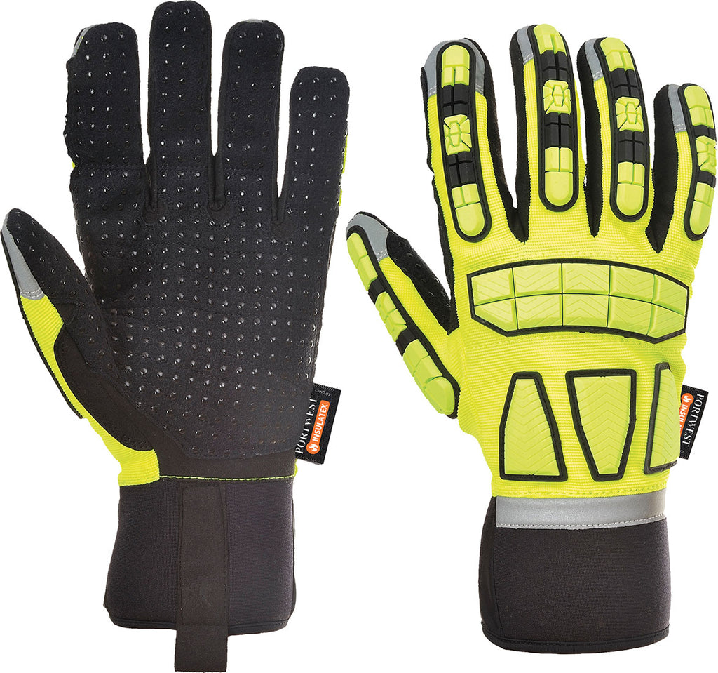 Portwest Safety Impact Glove Lined A725