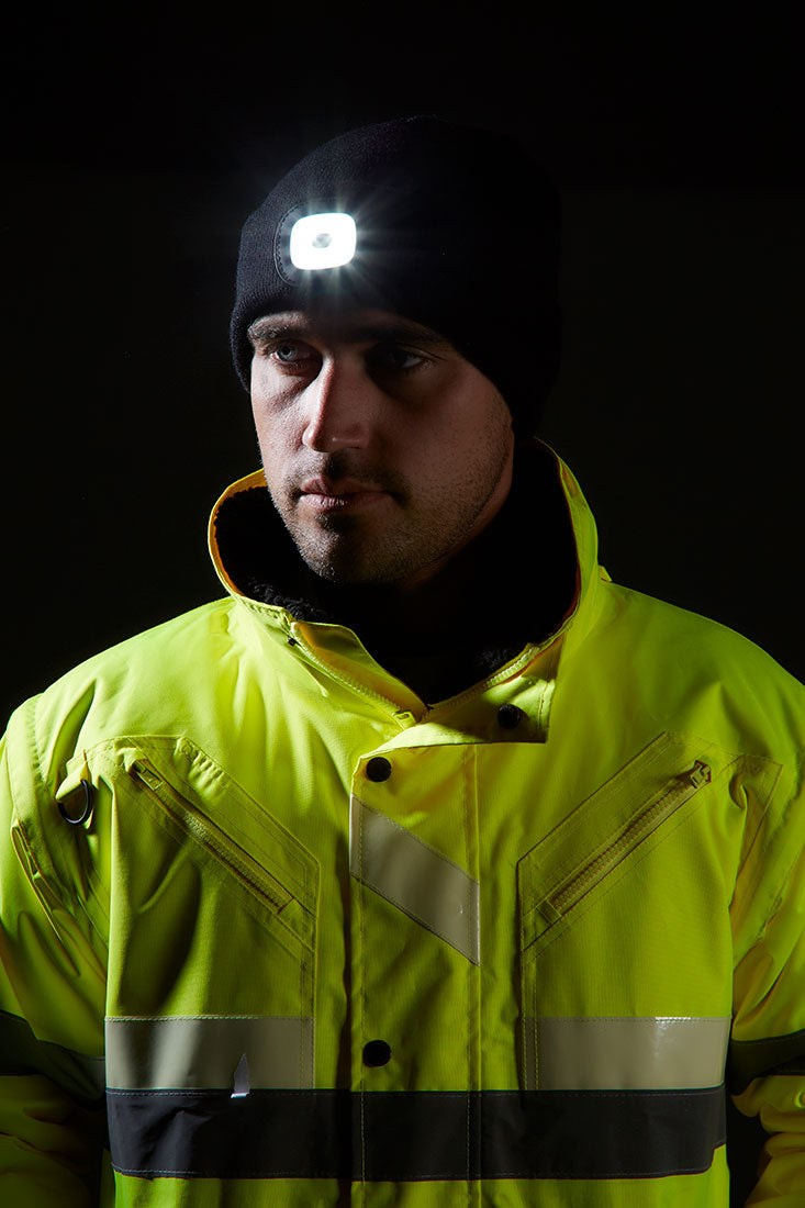 Portwest Rechargeable LED Beanie B029