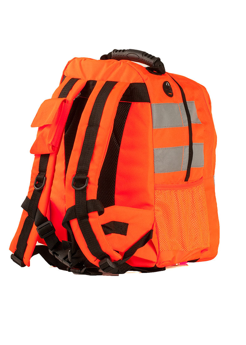 Portwest B905 Hi-Vis Work Rucksack (25L) with Reflective Tape