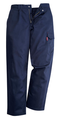 Portwest BZ31 Mens Safety Cargo Pants in Flame Resistant Bizweld ASTM NFPA