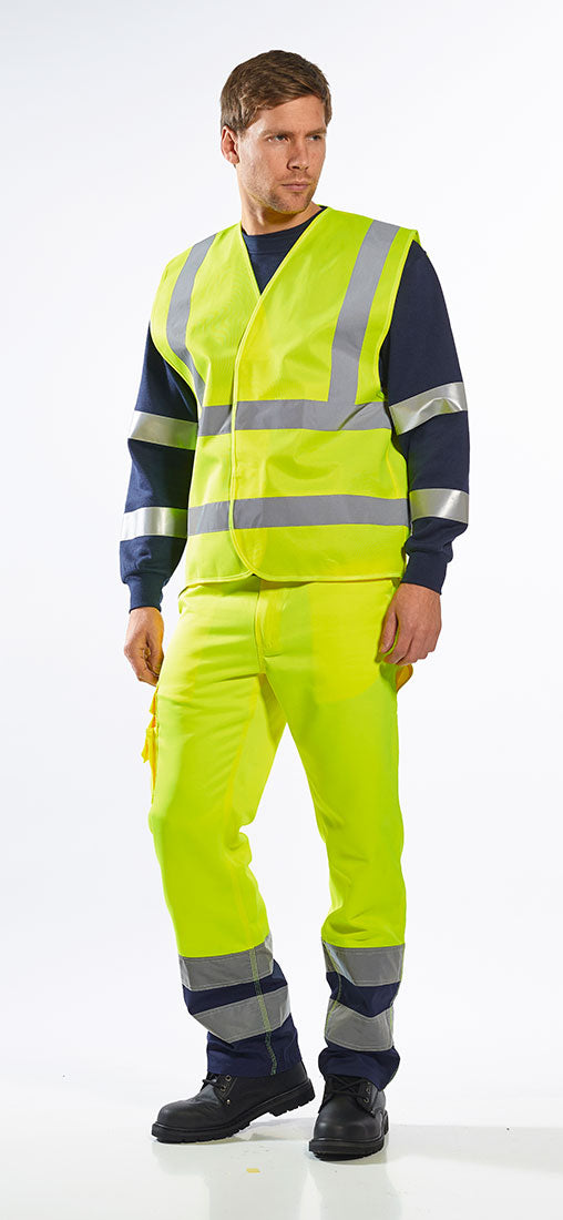 Portwest C470 Hi-Vis Reflective Two Band & Brace Cooling Vest ANSI