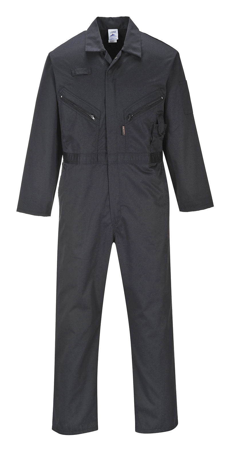 Portwest Zip Coverall Boilersuit C813