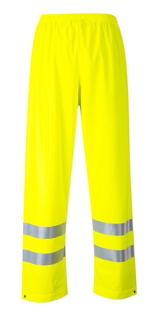 Portwest FR43 Sealtex Flame Resistant Hi-Vis Reflective Waterproof Pants ANSI