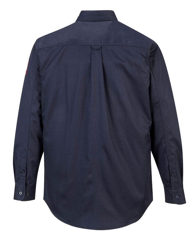 Portwest FR89 Fire Resistant Safety Work Shirt in FR Bizflame 88/12 ASTM NFPA