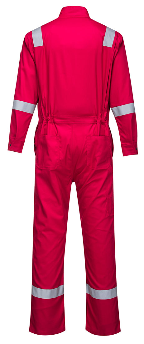 Portwest FR94 Bizflame Fire Resistant Coverall with FR Reflective Tape ASTM NFPA