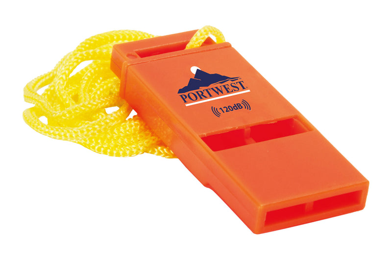 Portwest 120db Safety Whistle (Pk20) PA99