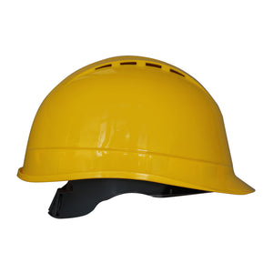 Portwest PS50 Lightweight Vented Adjustable Arrow Work Safety Hard Hat ANSI
