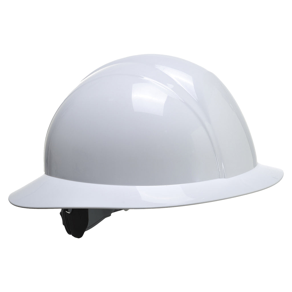 Portwest PS52 PW Adjustable Full Brim Future Safety Hard Hat ANSI