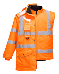 Portwest Hi-Vis 7in1 Jacket URT27