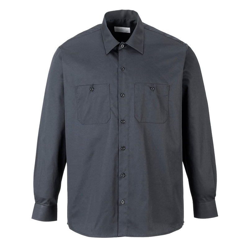 Portwest Industrial Work Shirt L/S S125