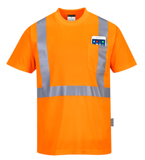 Portwest Hi-Vis Pocket T-Shirt S190