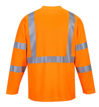 Portwest Hi-Vis Long Sleeved T-Shirt S191