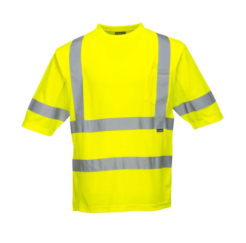 Portwest Class 3 Mesh Panel T-Shirt S397