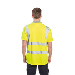 Portwest Hi-Vis S/S Polo Shirt S477