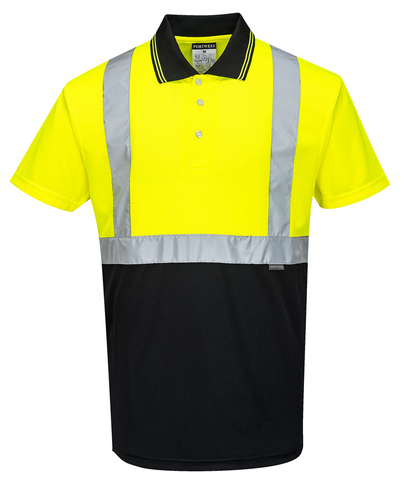 Portwest Hi-Vis 2-Tone Polo Shirt S479