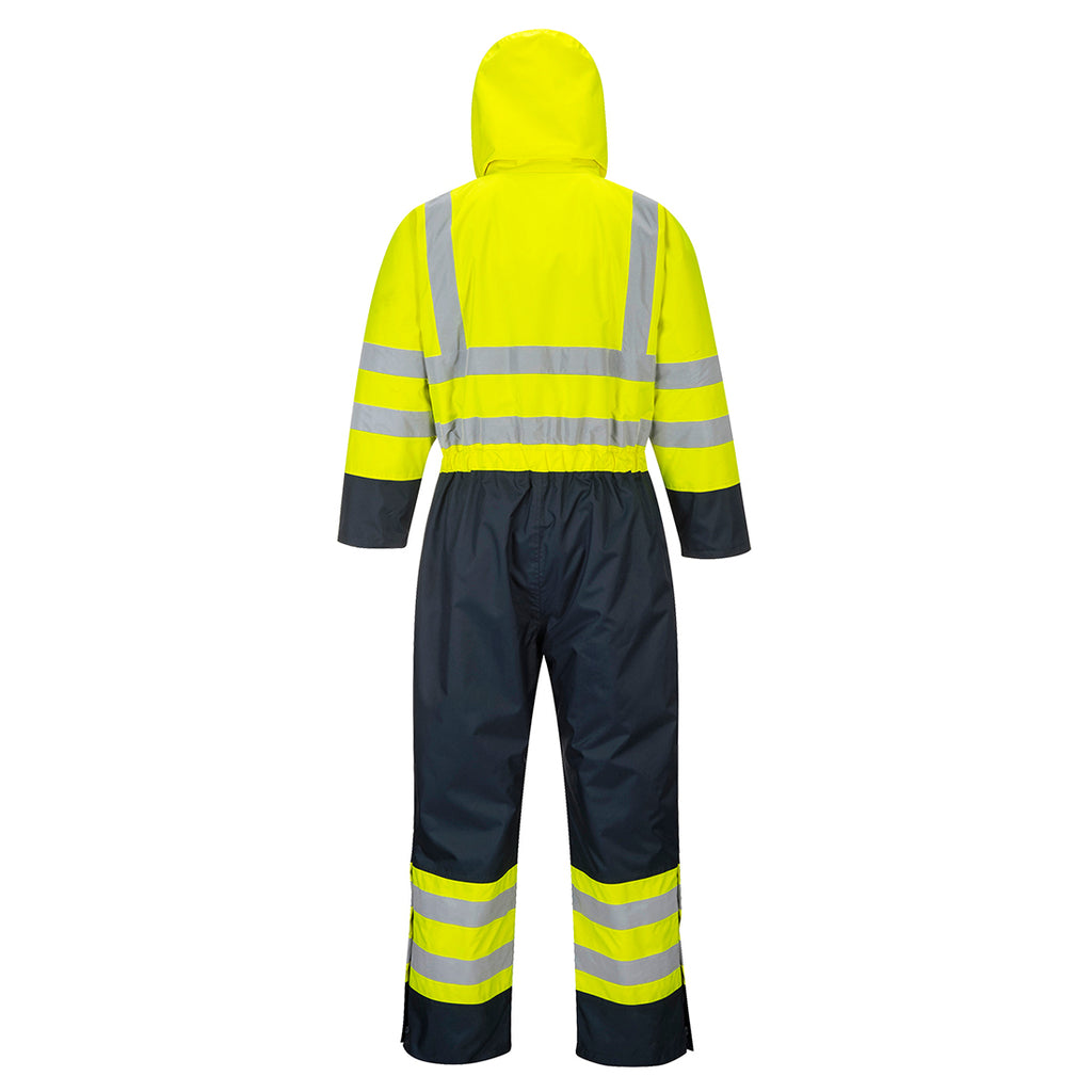 Portwest Contrast Coverall Lined S485